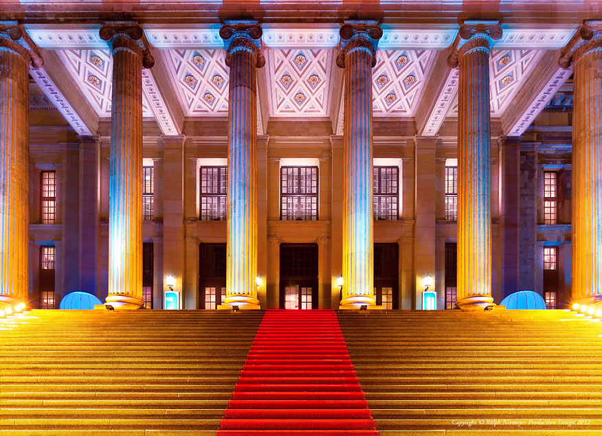 Architekture Photography 2011 · Gendarmenmarkt · festival of lights
