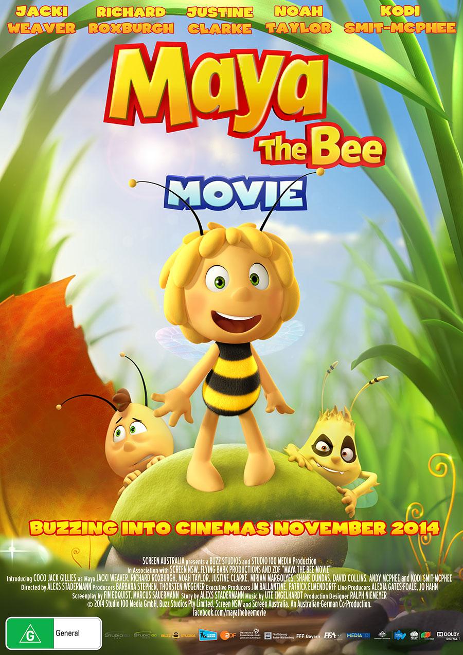 Die Biene Maja - Australien Poster