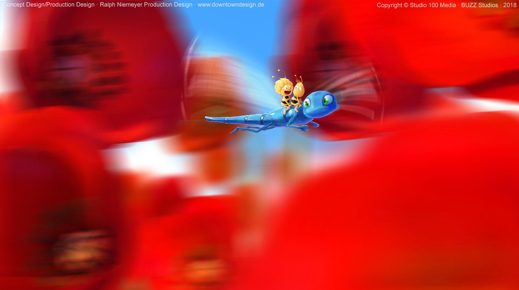 die-biene-maja-2-die-honigspiele-concept-art-ralph-niemeyer-poppy-flowers