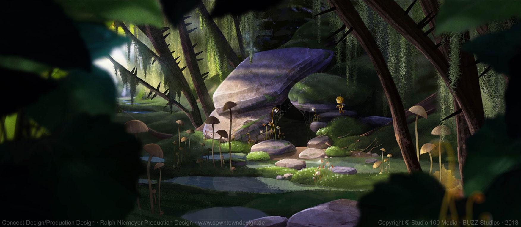 die-biene-maja-2-die-honigspiele-concept-art-ralph-niemeyer-maja-cabin